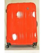 "Traveler's Choice 29"" Sedona new spinner red polycarbonate shell combo lock - $98.99"