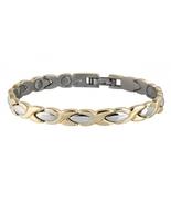 Sabona 332 Lady Executive Gold Duet Magnetic Bracelet   - $62.95