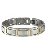 Sabona 346 Executive Symmetry Duet Magnetic Bracelet - $57.98