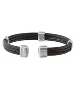 Sabona 365 Trio Cable Black Satin Magnetic Bracelet - $59.99