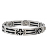 Sabona 370 Cross Cable Stainless Magnetic- New! - $65.97