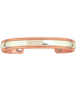 Sergio Lub 750 - Magnetic Sterling in Copper Bracelet - Size LARGE - New! - $74.95