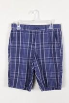 Apt. 9 Blue Shorts Plaid Checkered Men's Shorts Size 30 - $8.79