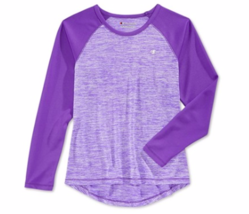 Champion Performance Little Girls Long Sleeve Top, Electric Purple, 2T - $16.00