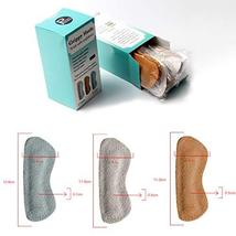 Heel Grips for Narrow Heels or Loose Shoes, Premium Suede Leather Cushion Insert image 5