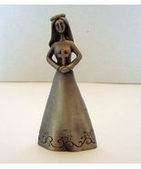 """4"""" Pewter First Holy Communion Figurine - Girl  - $6.50"""