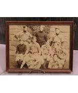 Early 1900s Dickinson College Carlisle Pennsylvania Baseball Team Sepia ... - $47.52