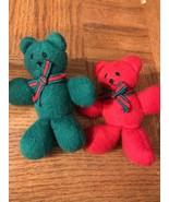 Bear Christmas Decorations Set Of 2 - $11.76