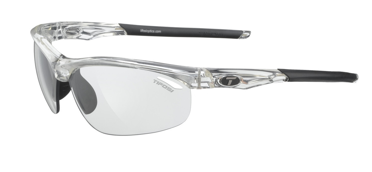 Tifosi VELOCE Crystal Clear Light Night FOTOTEC CYCLING Sunglasses