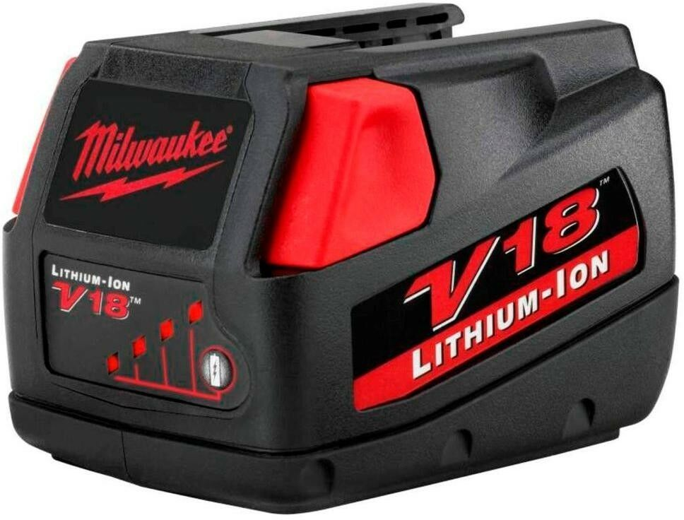 Primary image for Milwaukee Power Tool Battery 3.0Ah 18-Volt Lithium-Ion Rechargeable Lightweight