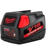Milwaukee Power Tool Battery 3.0Ah 18-Volt Lithium-Ion Rechargeable Ligh... - $152.76