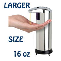 Touchless Automatic Soap Dispenser CHROME - Holds 16oz - $39.95