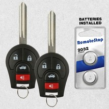 2 For 2004 2005 2009 2007 2008 2009 Nissan Quest Keyless Uncut Remote Ke... - $16.80