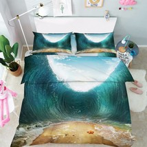 3D High Waves 06 Bed Pillowcases Quilt Duvet Cover Set Single Queen King... - $90.04+