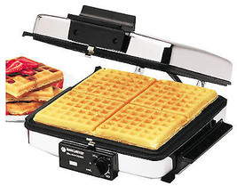 Waffle Maker/Griddle, Stainless Steel, 1200-Watt - $103.24 CAD