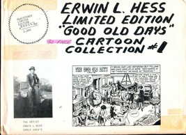 "Erwin L. Hess Limited Edition ""Good Old Days"" Cartoon Collection #1 1970-G - $25.22"