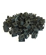 RackGold Black 12-24 Slide-on Cage Nuts 100 Pack - USA Made - $63.90