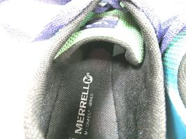 Merrell M Connect Womens Vapor Glove 2 Shoes Bright Green And Purple Size US 10 image 5