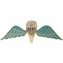 Foreign British Military Blue Jump Wing Badge Pin - $11.87