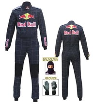 Red Bull Go Kart Race Suit CIK/FIA Level 2 gift Gloves & balaclava - $180.99