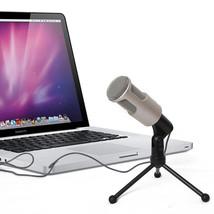 Classic Omni 360° 3.5mm Mini Microphone Mic Desk Holder for Laptop Noteb... - $20.27
