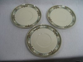 Vintage Set of Three (3) Cup Saucers H. Selb Ba... - $29.65