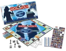 Usaopoly My American Idol CollectorS Edition Monopoly - $27.53