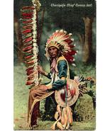 Chief Ehankekle Carlisle Indian School 1908 Post Card - $15.00