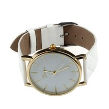 2018 Fashion Geneva hight quality Wristwatch Fashionable Unique Leather Watchban - $16.99