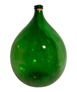 Antique French Large Glass Demijohn Bottle - $1,275.00