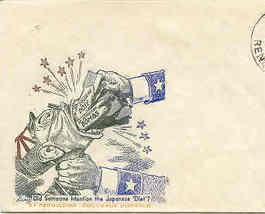 Navy Day War Propoganda 1st Day Cover October 1945 - $35.00