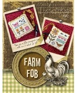 CLEARANCE Farm Fob Kit K80 cross stitch kit Liz... - $10.00