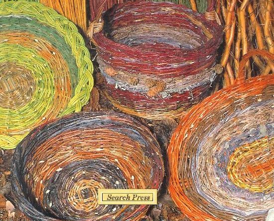 Handmade Baskets from Natures Colourful Material Willow Dogwood Prunings Vaughan