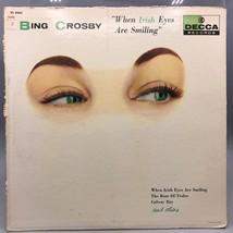 Vintage Bing Crosby When Irish Eyes Are Smiling Record Album Vinyl LP - $4.94