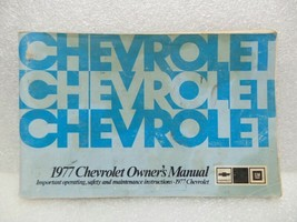 1977 Chevrolet Chevy Owners Manual 16059 - $16.82
