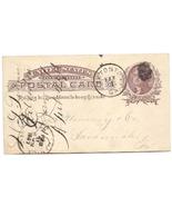 1887 Eatonton, GA Vintage Post Office Postcard - €8,47 EUR