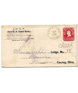 1905 Green Camp, OH Vintage Postal Cover - $9.95