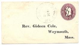 c1870 Kennebunkport, ME Vintage Post Office Postal Cover - $9.95