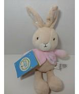 Peter Rabbit Flopsy bunny plush pink jacket NWT Kids Preferred Beatrix P... - $12.86