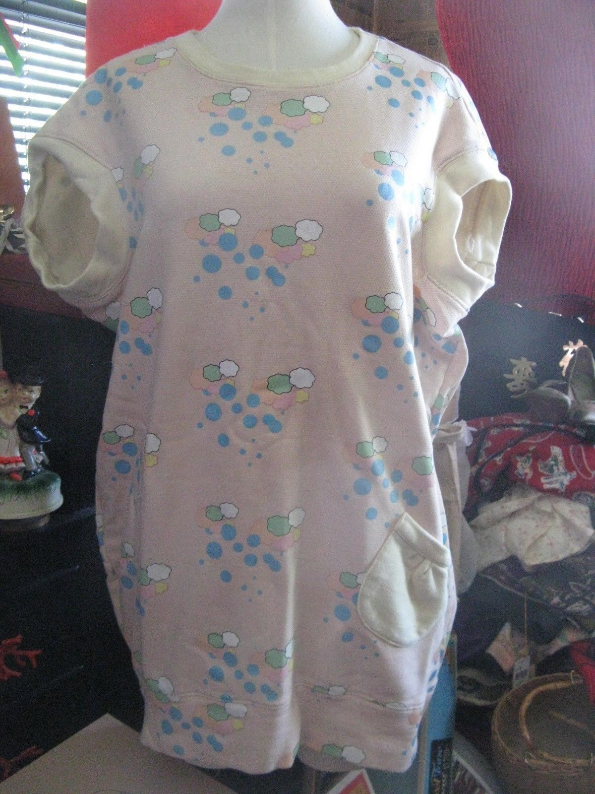 Primary image for Irregular Choice Shoes Ice Cream Clouds sample dress tunic top one of a kind!