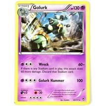 Pokemon TCG Golurk 43/111 Furious Fists Rare Trading Card - $1.97