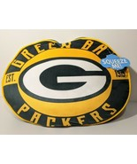 "NEW NFL Green Bay Packers Football Team Shape Cloud Pillow 15"" Travel Re... - $29.35"