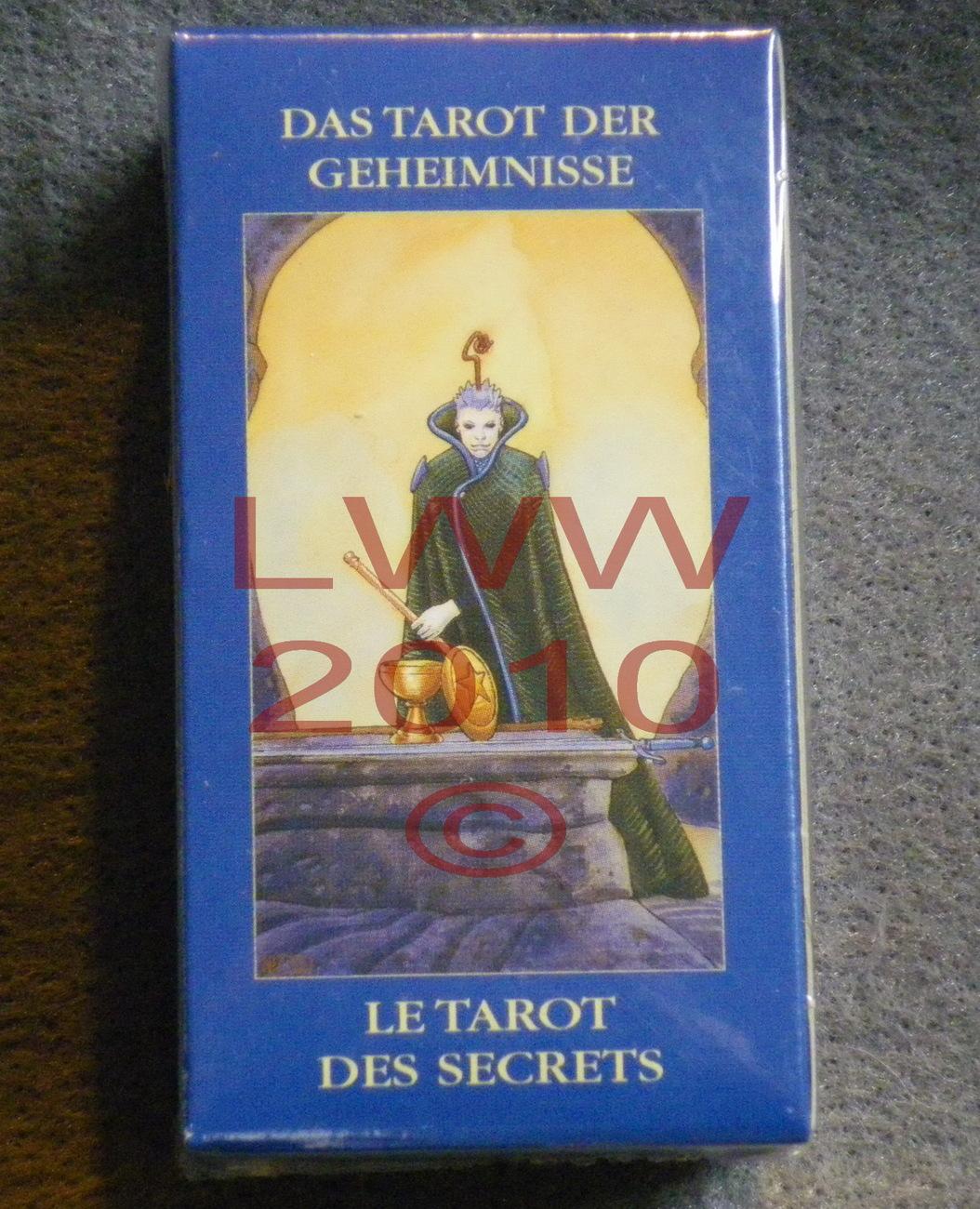 Secret Tarot Mini Tarot Deck NEW Anime Pagan Wiccan