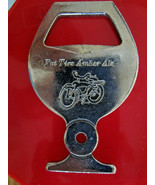 Vintage Bottle Opener Fat Tire Amber Ale New Belgium Key Chain  - $4.49