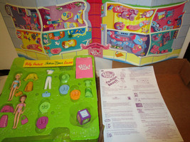 Polly Pocket Board Game 2004 Fashion Beach Dolls Clothes More! Ages 5+ - $24.99