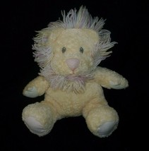 "13"" BABY YELLOW LION FIRST & MAIN SNAGGLEPUSS RATTLE STUFFED ANIMAL PLUS... - $29.45"