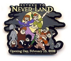 Disney WDW - Return To Neverland - Peter Pan Lost Boys Opening Day pin/pins - $29.99