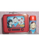 Hallmark Keepsake Howdy Doody Lunch Box and Thermos set of 2 ornaments 1999 - $19.95