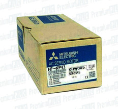 NIB MITSUBISHI ELECTRIC HF-KP43 SERVO MOTOR 400W 3PH 50/60HZ ALT P/N HG-KR43