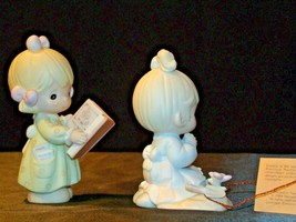 Precious Figurines Moments  731129 and PM922 AA-191839  Vintage Collectible image 2